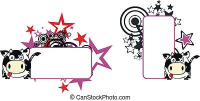 kugel, copyspace3, karikatur, kuh