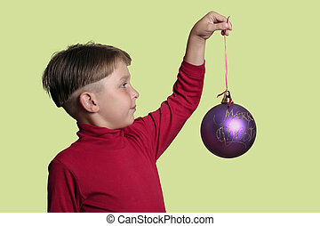 kugel, weihnachten, kind