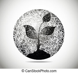 kugelförmig, abstrakt, magisches