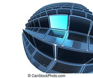 kugelförmig, laptops, 2