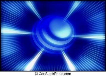 kugelförmig, Laser