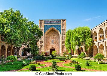 Kukeldash Madrasah, a medieval madrasa in Tashkent -...