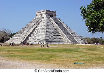kukulkan, ピラミッド