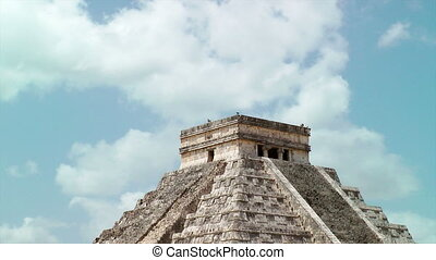 Kukulkan Pyramid at Chichen Itza, Mexico