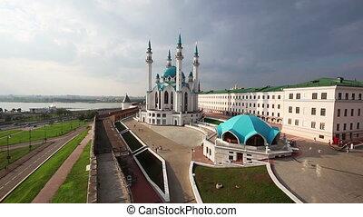 kul sharif mosque in kazan kremlin russia