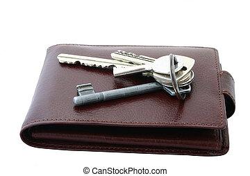 kulcscsomó, képben látható, bro