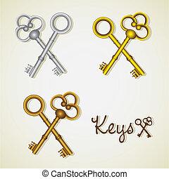 kulcsok, állhatatos, öreg