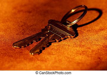 kulcsok, épület