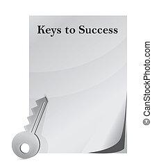 kulcsok, siker
