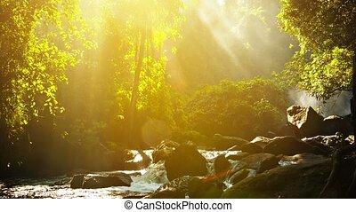 kulen, nationalpark, kambodschaner, phnom