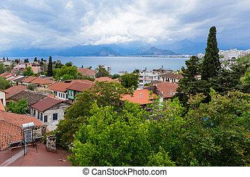 Kulesi district, Antalya city center, Turkey  country