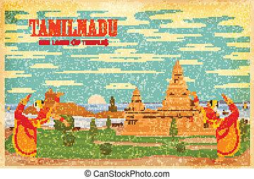 kultura, o, tamilnadu