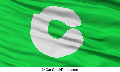 Kumamoto Capital City Close Up Flag - Kumamoto Capital City...