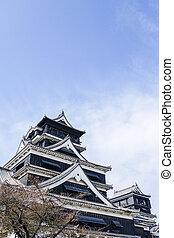 Kumamoto Castle In Autumn