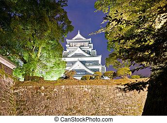 Kumamoto castle - The famous castle in Japanese cisty of...
