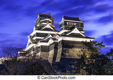 Kumamoto Japan Castle