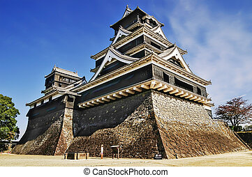kumamoto, kasteel