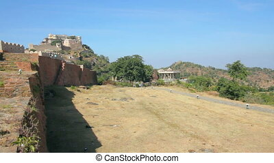 Kumbhalgarh fort in rajasthan India