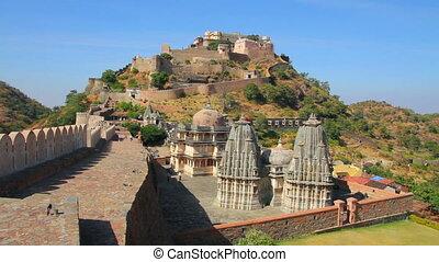 kumbhalgarh fort in rajasthan India
