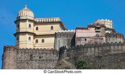 Kumbhalgarh fort - Kumbhalgarh Fort is a Mewar fortress in...
