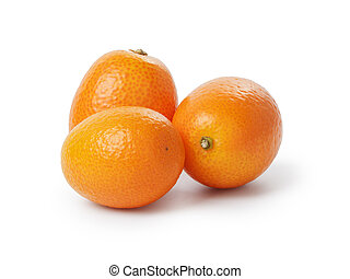 kumquat, maduro, frutas