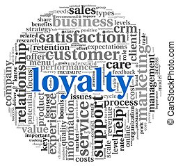 kund, begrepp, lojalitet