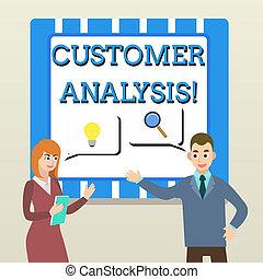kund, partnern, kolleger, begrepp, affär, sökande, text, företag, lösning, jointly, idea., information, betydelse, examen, analysis., systematisk, handstil, s, problem, generera