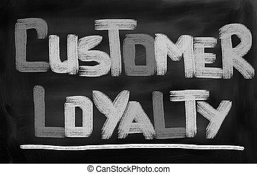 Kunde, begriff, Loyalität