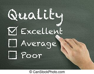 Kunde,  form,  service, Wählen, ausgezeichnet, Auswertung