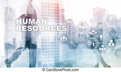 kunde, geschäftsführung, teich, hr, concept., employees., human resources, sorgfalt