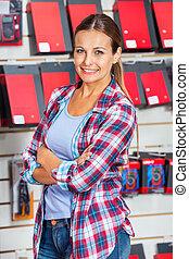Kunde,  Hardware, kaufmannsladen, weibliche, sicher