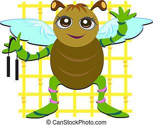 Kung Fu Martial Arts Bug