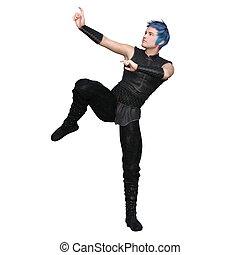 Image of a kung fu master.
