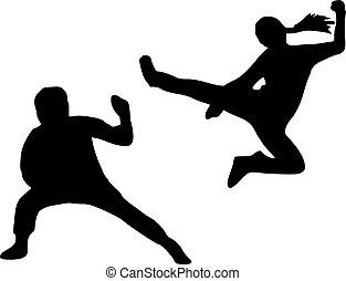 kungfu, 侧面影象