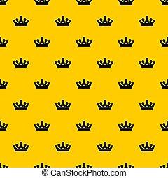kunglig krona, mönster