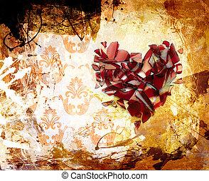 kunst, abstraktion, verzierung