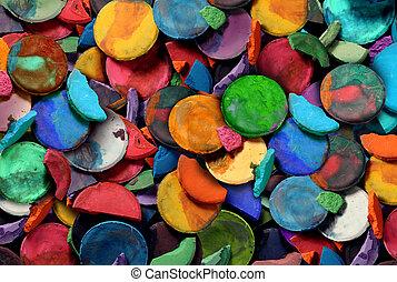 kunst, farbe