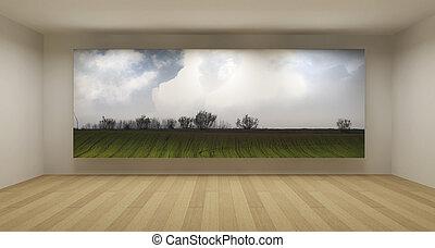 Afbeeldingen van kunst kamer ruimte concept afbeelding valk csp9243648 zoek naar - Kunst en decoratie kamer ...