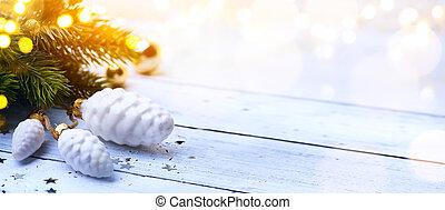 kunst, kerst seizoen, achtergrond;, kerstmis, feestdagen,...