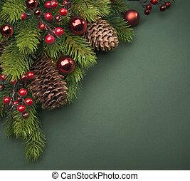 kunst, kerstmis, begroetende kaart