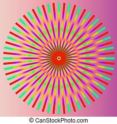 kunst, kleurrijke, abstract, illustratio, achtergrond., ...
