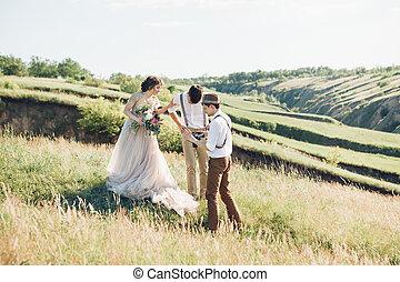 kunst, nimmt, natur, fotograf, stallknecht, braut, wedding, bilder, geldstrafe, foto