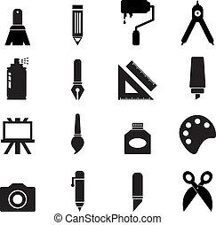 kunst, pictogram