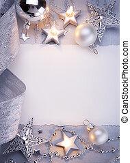 kunst, weihnachten, grüßen karte