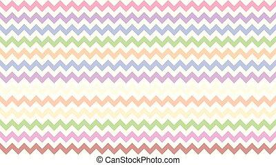 kunst, zag, frame, vorm, chevron, gestreepte , pastel, regenboog, doodle, serrated, zig, achtergrond, volle, driehoek, kleurrijke, behang, kleur, tracery, lijn, golf, parallel, slag