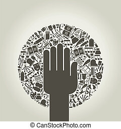 Kunster,  Hånd