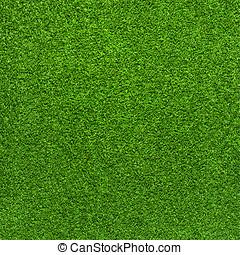 kunstige, baggrund, græs, grønne