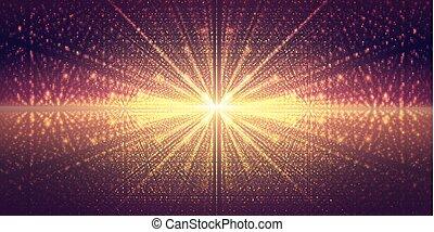 kunstwerk, illustration.background, raum, stars.vector,...