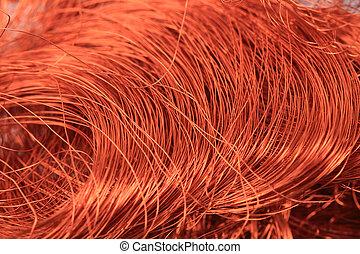 Kupfer draht, hintergrund Stockfotos - Suche Foto Clipart - csp54586298