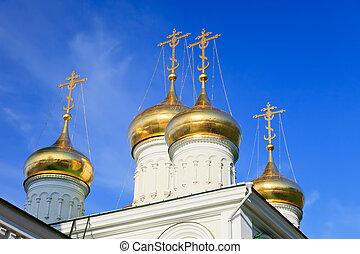 kupola, közül, budi keresztelő, templom
